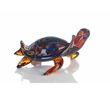 Vetro Gallery Glas-skulptur Schildkröte
