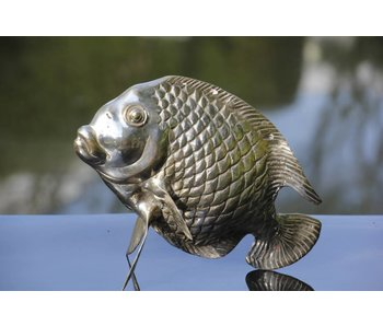 SEA LIFE - MGM Tropical fish sculpture Tebal in silver plated Yellowcast