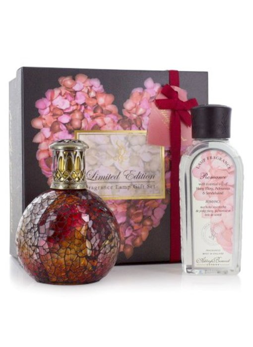 Ashleigh & Burwood Special: Ltd. Editon: Romance: Rosebud Fragrance lamp + essential oil