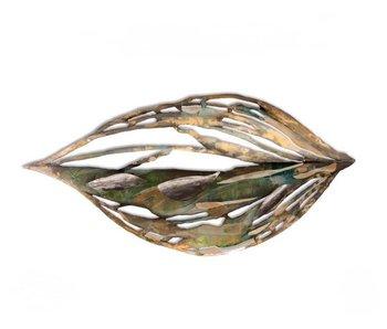 C. Jeré Wandsculptuur herfstblad Eden