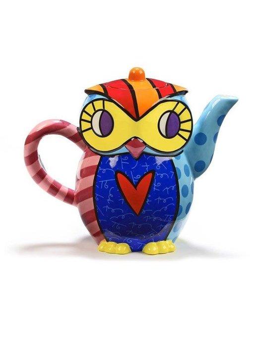 Britto Teapot Owl
