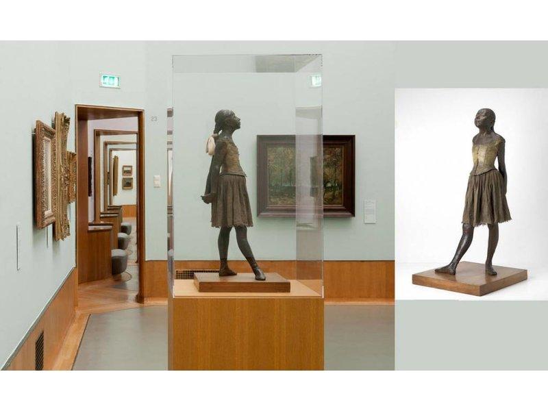 Mouseion Petit Danseuse de quatorze ans, by Edgar Degas - 16 cm