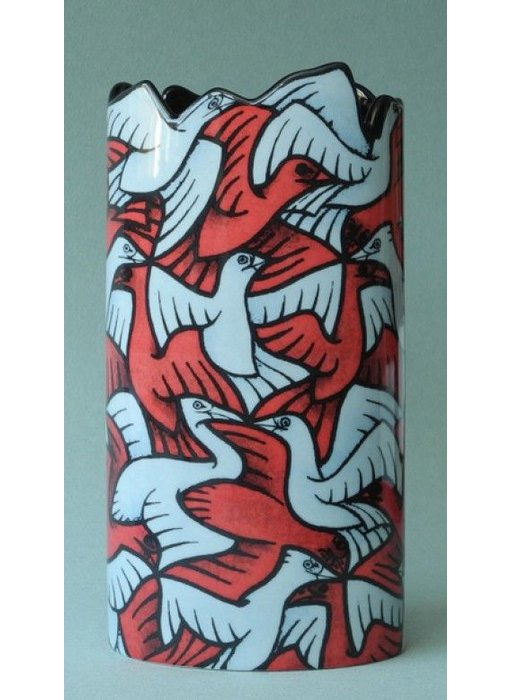 Mouseion Vase Escher - Birds, Regular Division