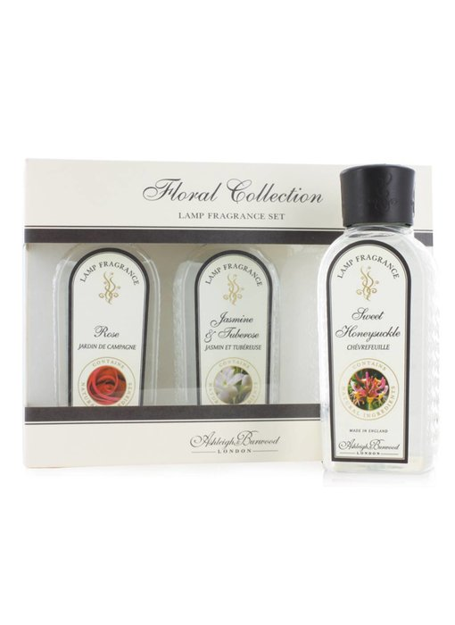 Ashleigh & Burwood Fragrance oil Collection Spicy & Woody - 3 x 180 ml