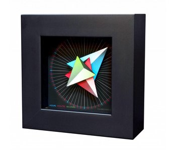 CleverClocks Uhr Triangle