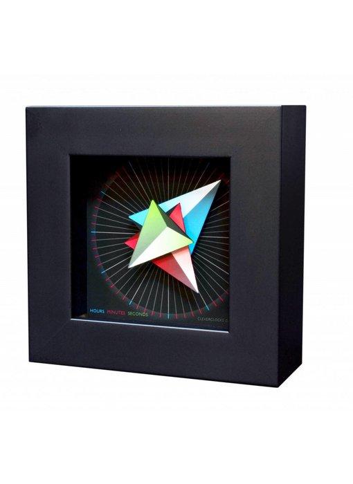 CC Wandklok of tafelklok Triangle