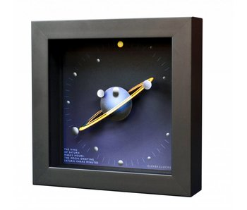 CC Art wall clock or desk clock Saturn