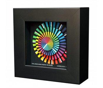 CleverClocks Uhr Spectrum, Wanduhr, Tischuhr