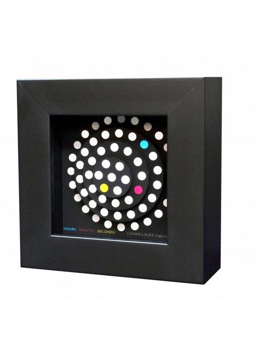 CC Wandklok Dot-Matrix tafelklok
