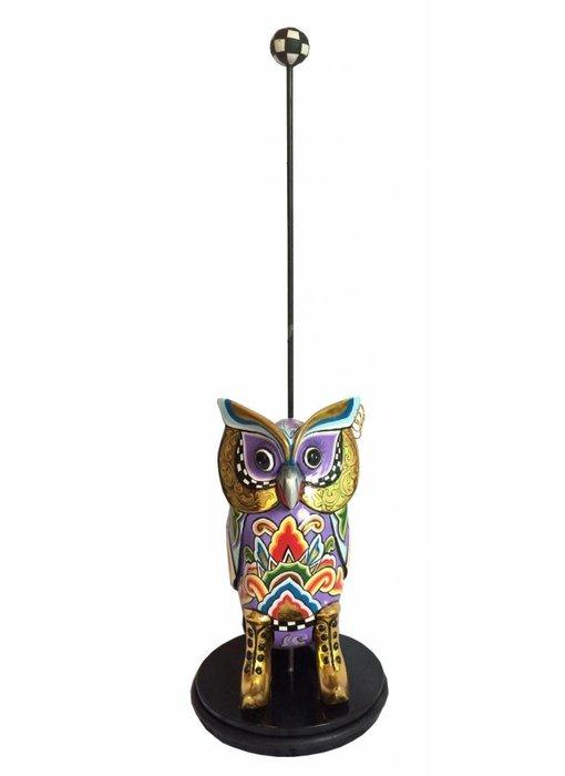 Toms Drag Doorstop Owl Hugo by Toms Drag