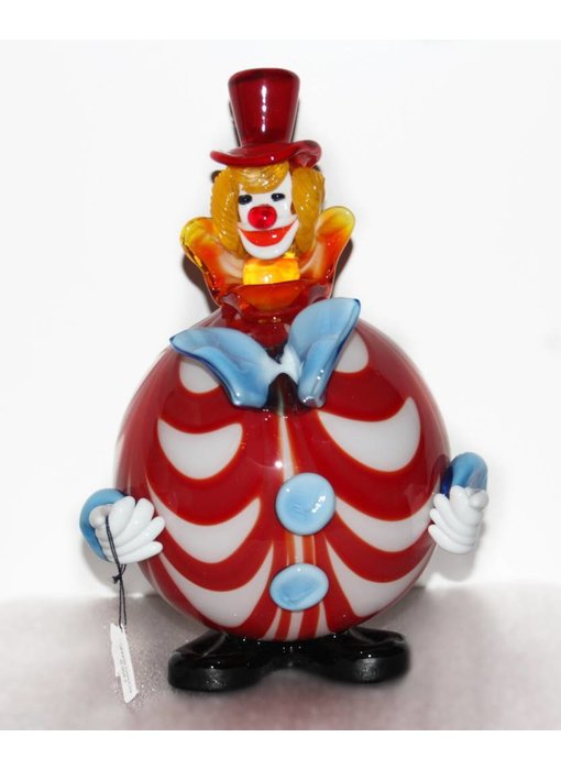 Vetri di Murano Clown with round belly - Murano glass