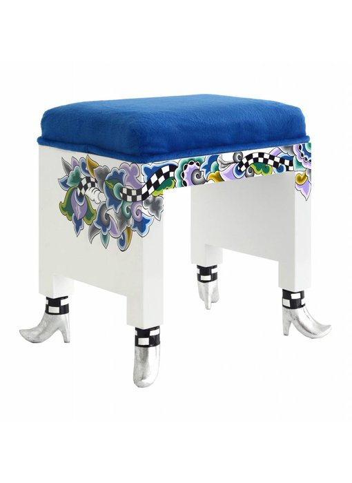 Toms Drag Stool, Silver Line