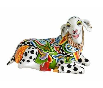 Toms Drag Schaap sculptuur of schapenbeeld Celia