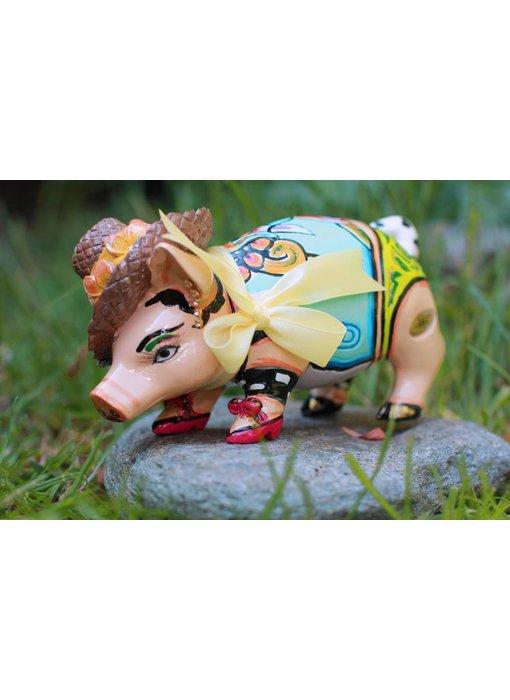 Toms Drag Pig or pig Little Charlene - miniature medium