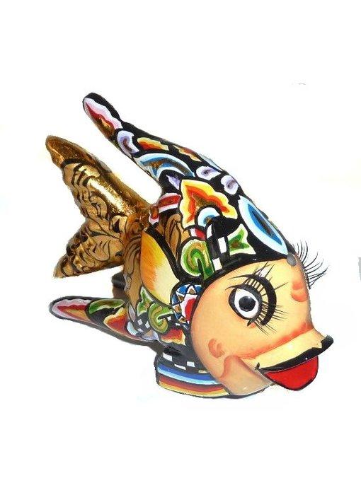 Toms Drag Fish Oscar Black - L