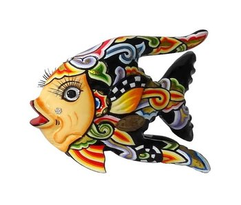 Toms Drag Fisch Oscar, black sunfish - S