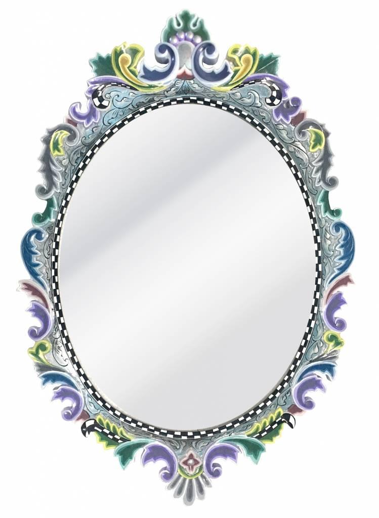 Toms Drag Colección Espejo Oval Versalles - Silverline - DecoVista ...