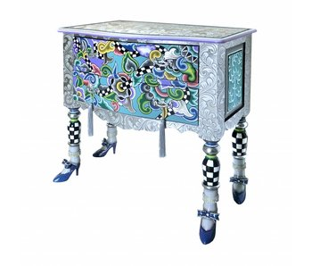 Toms Drag Drawer chest Versailles M - Silver Line