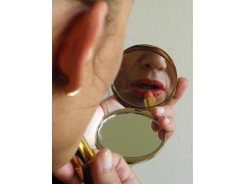 Mouseion Zakspiegeltje Degas, spiegel