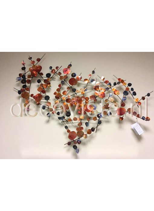 C. Jeré Attraction - copper wall art object  - Artisan House