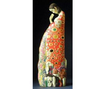 Mouseion Gustav Klimt beeld De hoop II