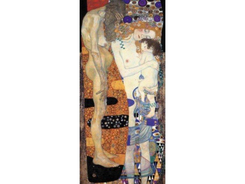 Mouseion Gustav Klimt De drie levensfasen van de vrouw