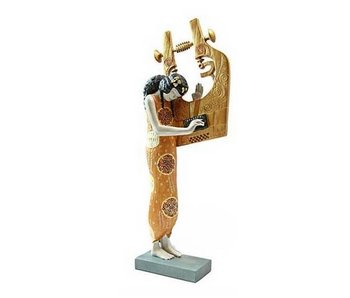 Mouseion Gustav Klimt figurine  Poetry