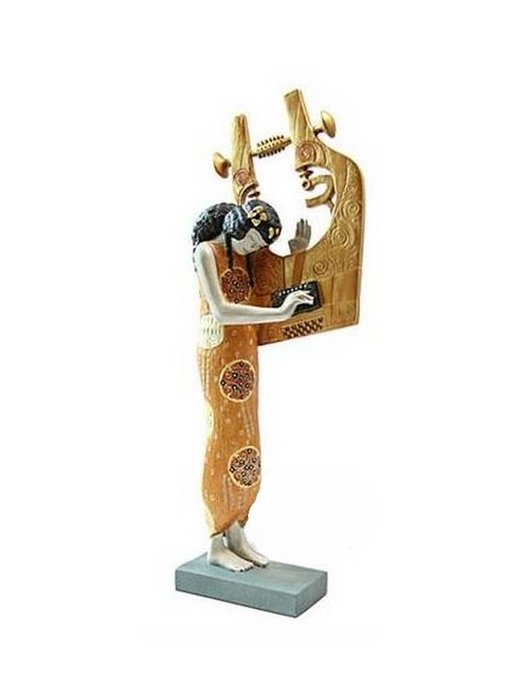 Mouseion Gustav Klimt figurine  Poetry