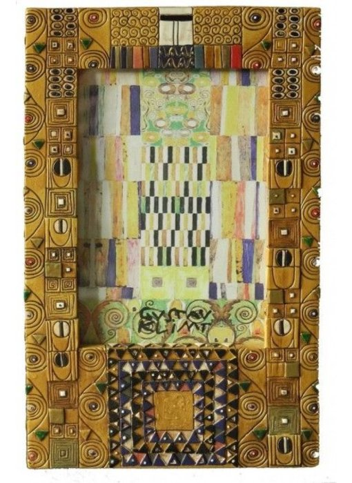 Mouseion Gustav Klimt  photo frame  18 cm