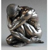 BodyTalk Nude sculpture bodybuilder