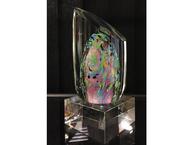 Glassculptuur fantasieobject