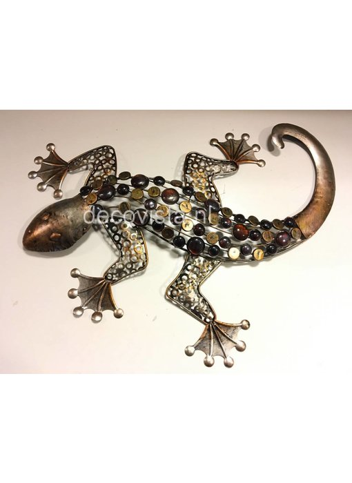 Wall decoration gekko, reptile, lizard