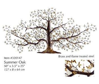 C. Jeré Wall art sculpture  Summer Oak