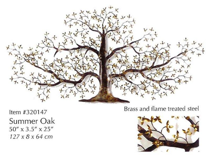 C. Jeré wanddecoratie Summer Oak, boom