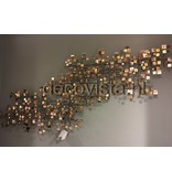 C. Jeré Firmament (Set of 2) - Metal wall art sculpture, Artisan House