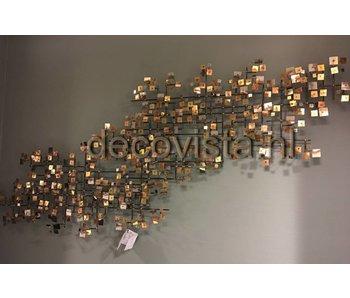 C. Jeré Firmament wandsculptuur metaal C. Jere