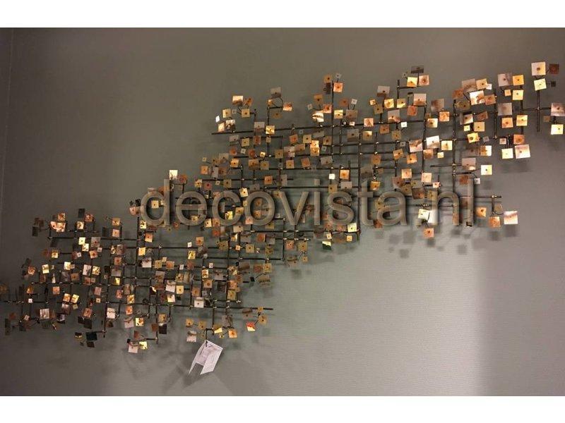 ... C. Jeré Firmament   Set 2 Stück   Wanddekoration Metall Skulptur Artisan  House ...