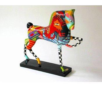 Toms Drag Pferd Sun Skulptur