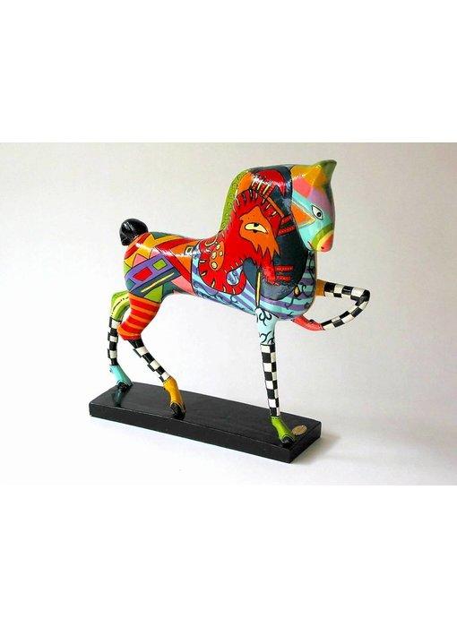 Toms Drag Paardenbeeld,  zonnepaard