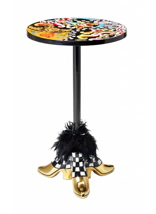 Toms Drag Side Table Flowers