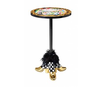 Toms Drag Round side-table Gold