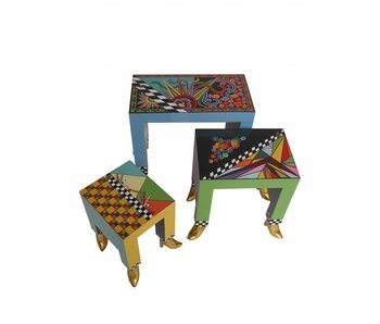 Toms Drag 3-piece  table set