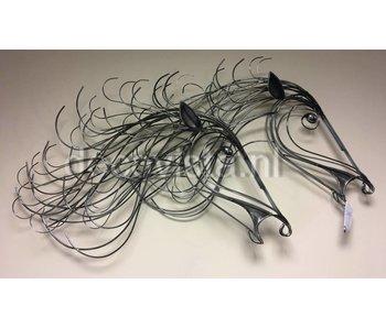 C. Jeré Gallop  wandsculptuur paarden