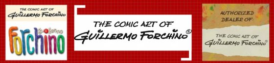 Comics van Forchino