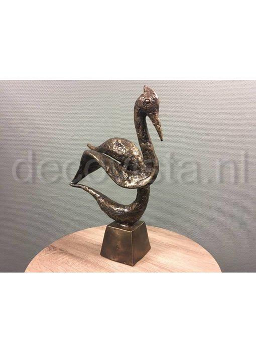 Bronzen zwaan