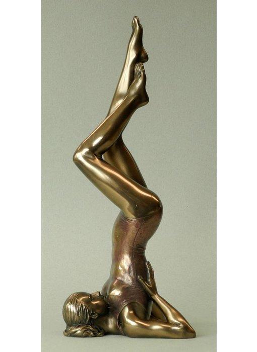 BodyTalk Yoga figurine woman  Salamba Sarvangasana