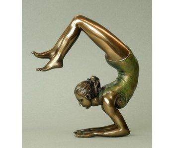 BodyTalk Yoga figurine woman  Vrischikasana