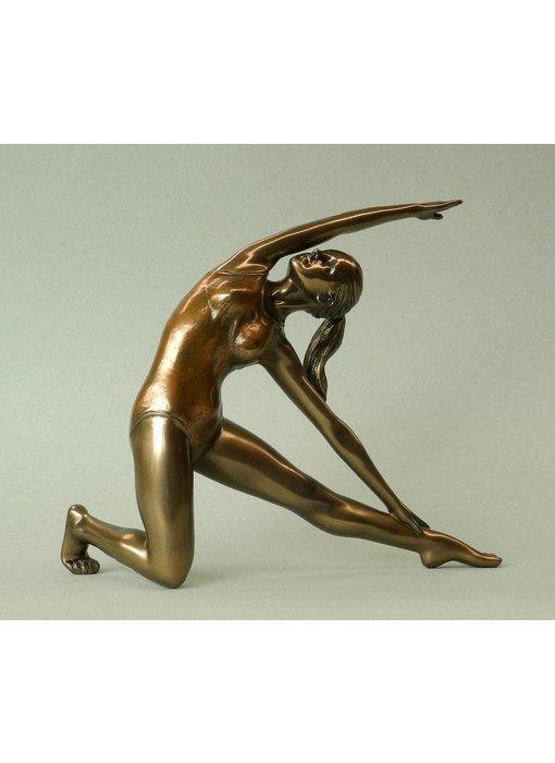 BodyTalk Yoga beeldje  Utthia Trikonasana