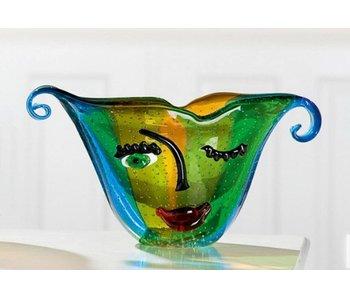 Gilde GlasArt Künstlerische Vase Twinkle