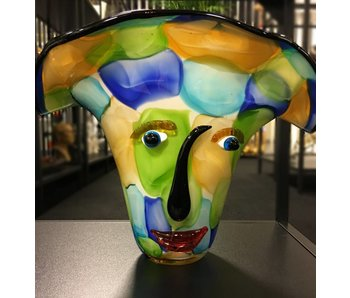 Eldig GlasArt Design-Vase  Visto